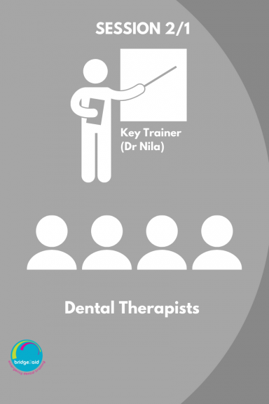 Cascade training for Dental Therapists