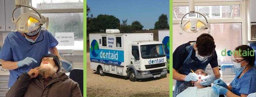 Dentaid mobile caravan