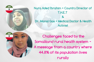 Nura Aded and Dr Manal Gas