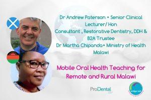 Andrew Paterson and Martha Chipanda
